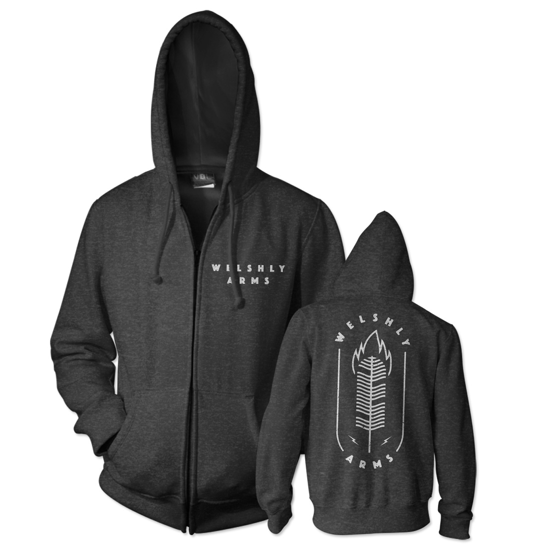 Feather Flame Hoodie